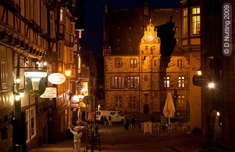 Altstadt in Marburg